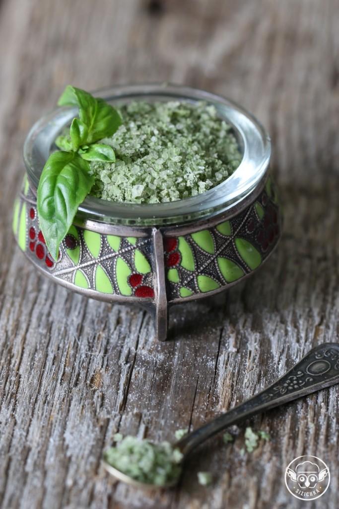 Ароматная базиликовая соль